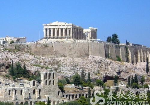 雅典卫城旅游景点介绍 雅典卫城旅游攻略 雅典旅游景点 希...