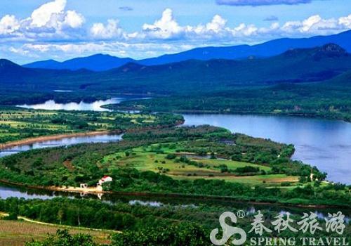 珍宝岛位于黑龙江省虎林市境内的乌苏里江上