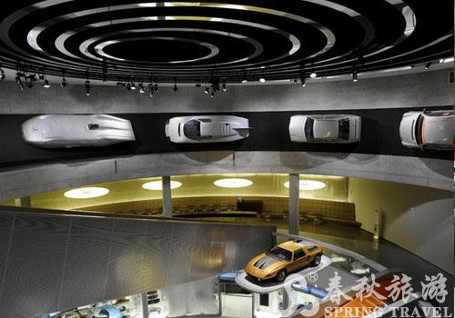 奔驰博物馆旅游景点介绍 奔驰博物馆旅游攻略 斯图加特旅...