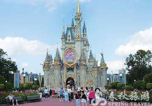 奥兰多的迪士尼乐园