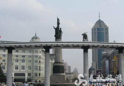 哈尔滨的标志性建筑 防洪纪念塔