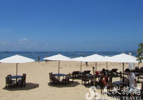 蜜月湾沙滩俱乐部 属于巴厘岛最南端的快乐