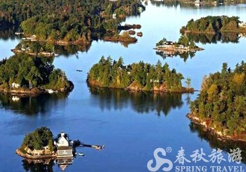 船游环岛 引人入胜的加拿大千岛湖