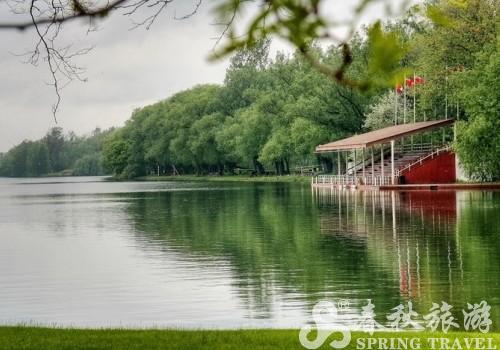 多伦多湖心岛 雨中多柔情