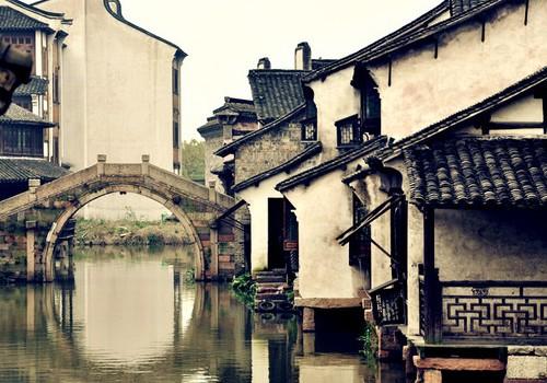 刘若英江南风景图