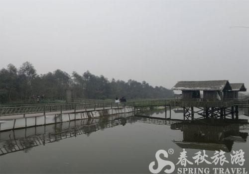 农庄鱼塘设计图