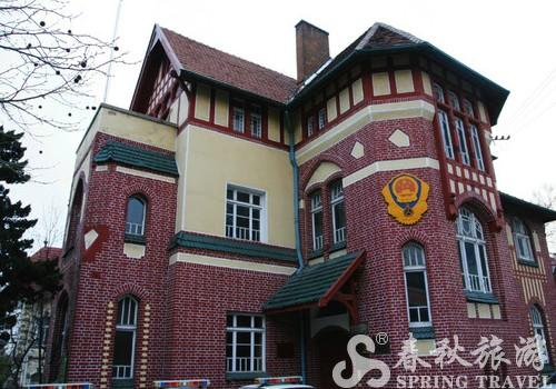 肠衣厂旁边的幼儿园,也是一栋优秀的建筑