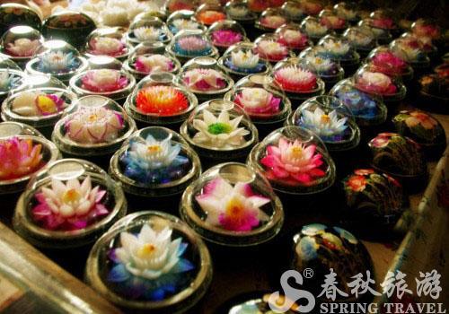 香皂花,都是手工雕刻染色的