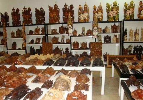 巴厘岛木雕
