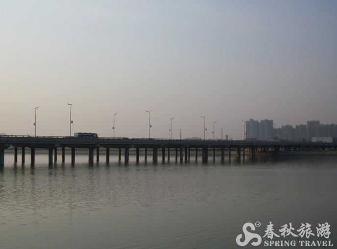 咸阳二号桥风景