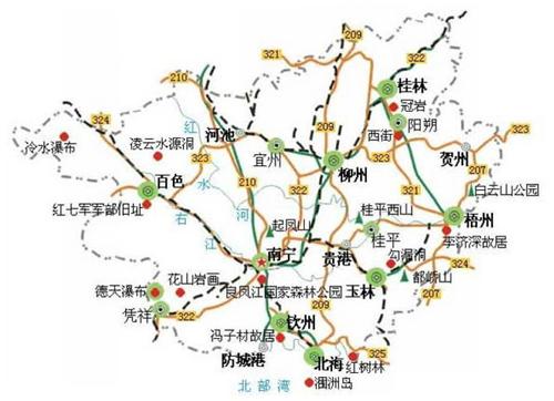 崇左新建汽车城规划图