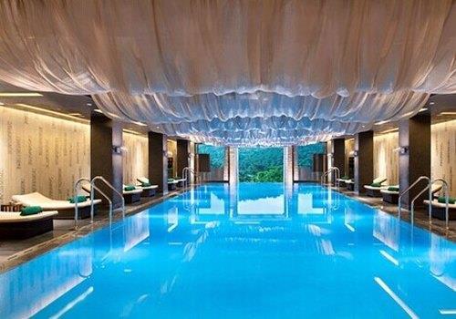 游泳池_酒店游泳池