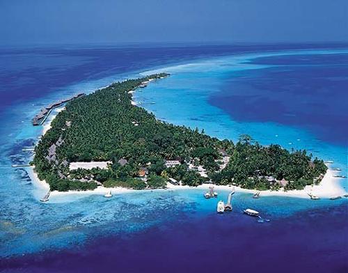 海中的翡翠群岛 马尔代夫