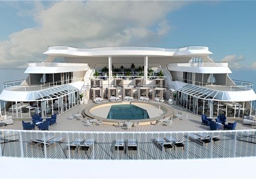 皇宫泳池及日光甲板